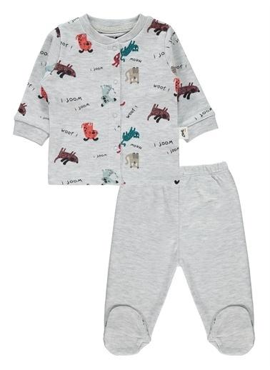 Civil Baby Civil Baby Erkek Bebek Pijama Takımı 0-6 Ay Gri Civil Baby Erkek Bebek Pijama Takımı 0-6 Ay Gri Gri